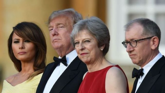 Trump to confront Theresa May over UK's role in Spygate scandal