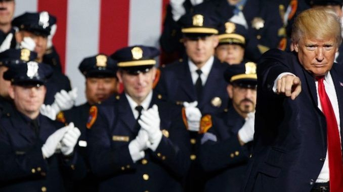 Trump calls on cop killers to receive the death penalty