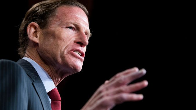 Democratic Senator. Blumenthal calls for Don Jr. to be jailed