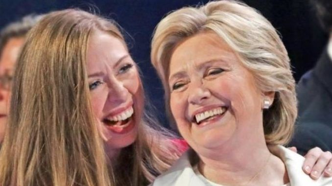 Chelsea and Hillary set up feminist production company