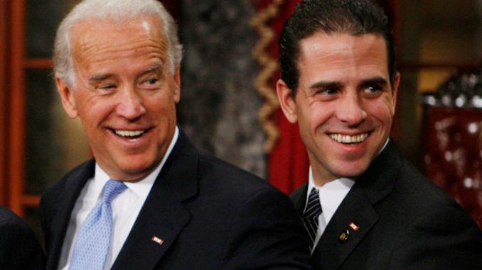 Authorities refused to investigate Biden's son in 2016 after finding cocaine pipe in his rented car