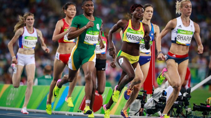 Female track athletes with naturally high levels of testosterone must decrease the hormone or face being excluded from participating at major competitions like the Olympics, the highest court in international sports has ruled.