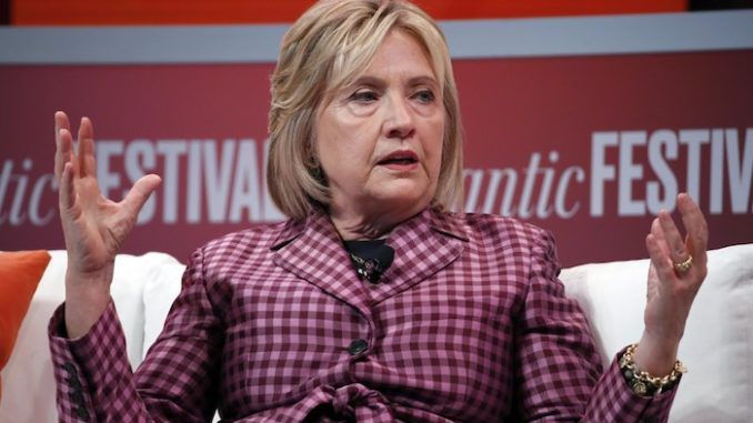 """Twice failed presidential candidate Hillary Clinton said at a Los Angeles event Saturday that she ran the """"best campaign"""" in 2016 and the election was """"stolen"""" from her."""