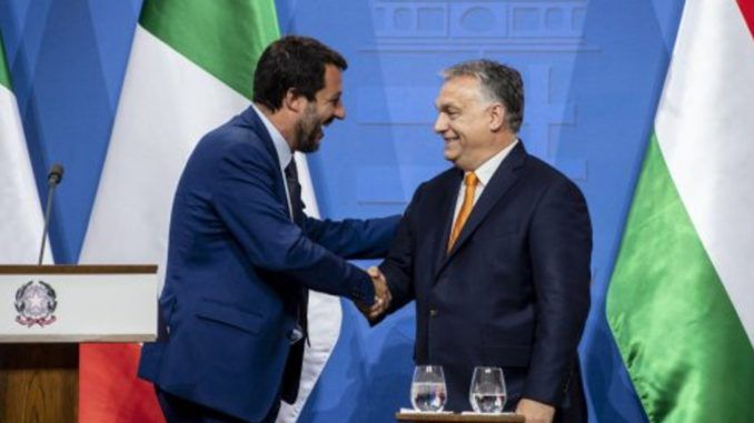 Italy and Hungary join forces to defend Europe's borders against migrant invasion