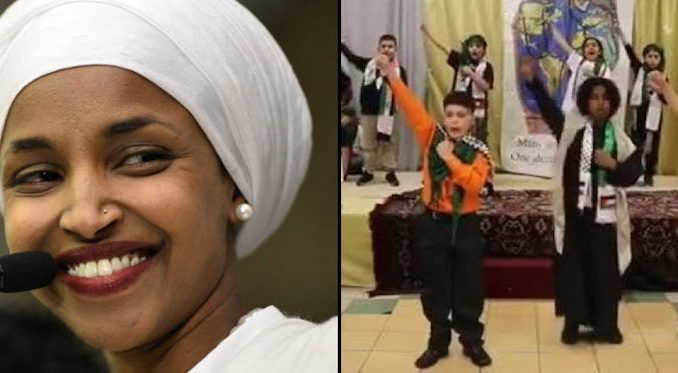 Ilhan Omar supports Muslim group that produced child beheading skit