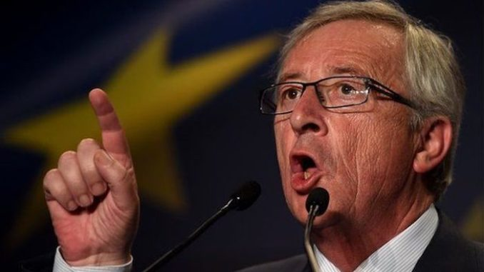 EU boss Jean-Claude Juncker says people who love their countries are stupid
