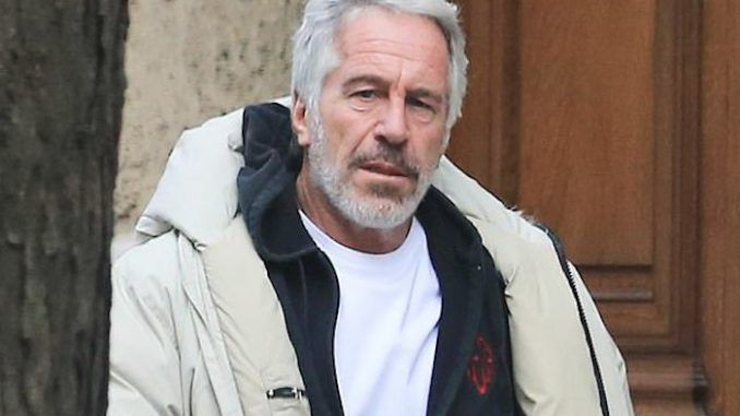 Jeffrey Epstein builds new compound on newly purchased island