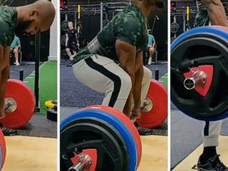 "A British weightlifter and fitness coach went viral after ""identifying as a woman"" while smashing the woman's deadlift record in a video."
