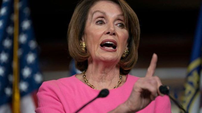 House Speaker Nancy Pelosi urges Trump's family to stage an intervention against the President