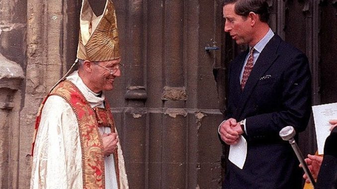 Prince Charles gave sadistic pedophile Bishop money after he was arrested by police