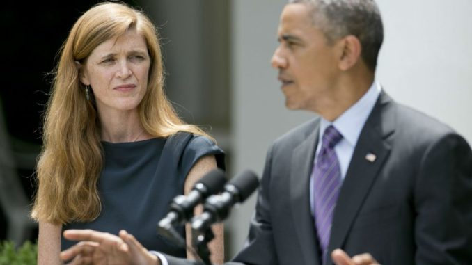Former Obama ambassador Samantha Power implicated in unmasking scandal