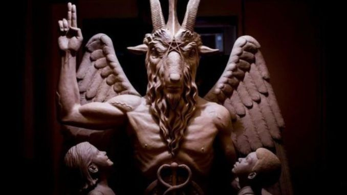 "The Satanic Temple says it's been designated a ""tax-exempt church"" by the IRS, meaning the US government recognizes it as a religion."