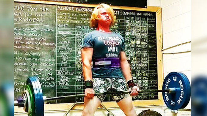 A transgender female weightlifter recently smashed four women's powerlifting world records in a single day after identifying as a woman.