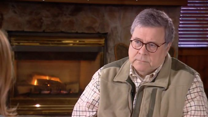 AG Barr warns that resisting our President is doing harm to America