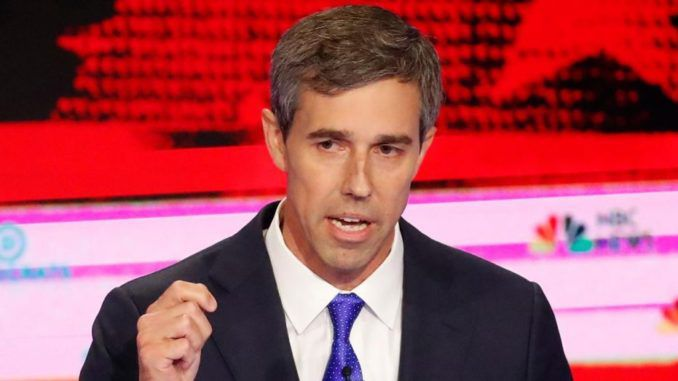 Beto O'Rourke says migrants have no choice but to enter the U.S. due to man-made climate change
