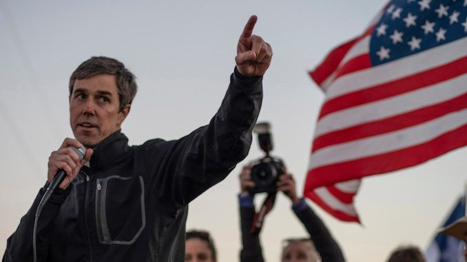 Beto O'Rourke vows to prosecute Donald Trump when he becomes President in 2020