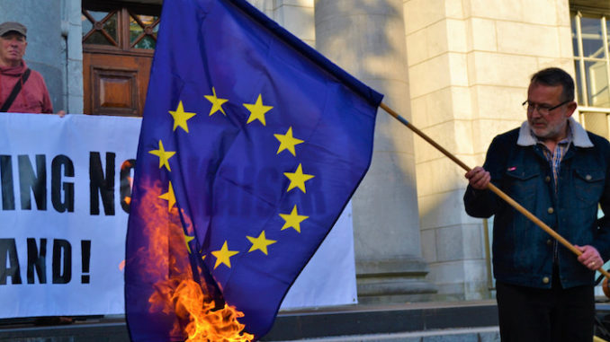 New German law proposes 3 year jail sentences for those who burn the EU flag