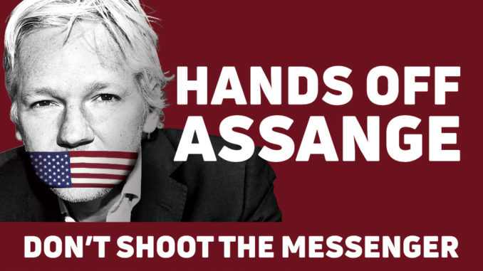 US Submits Official Request For Extradition Of Julian Assange Julian-Assange-678x381