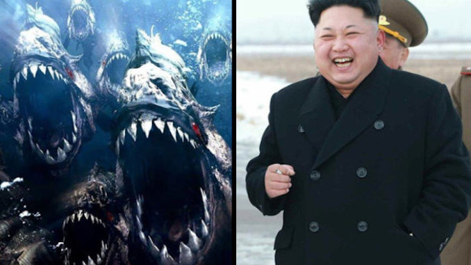 North Korea leader Kim Jong-Un has executed a general accused of plotting a coup by throwing him into a fish tank filled with piranhas, according to reports.