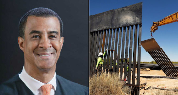 Image result for Obama-Appointed Judge BLOCKS Construction of Trump's Border Wall