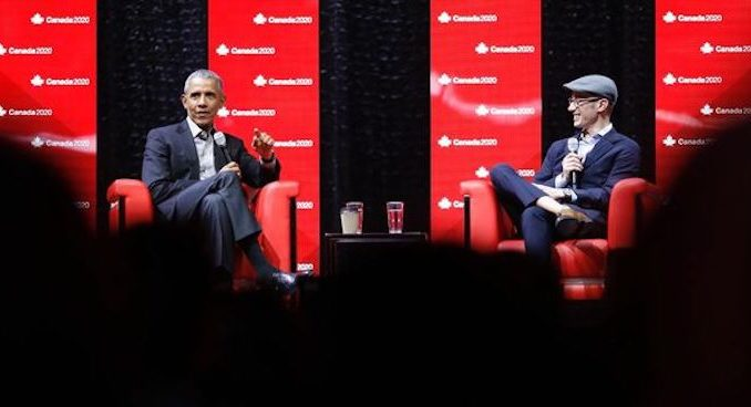 Barack Obama says he's scared of doctored videos of himself saying horrible things being released in the future