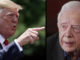 President Trump slams Jimmy Carter as a terrible president