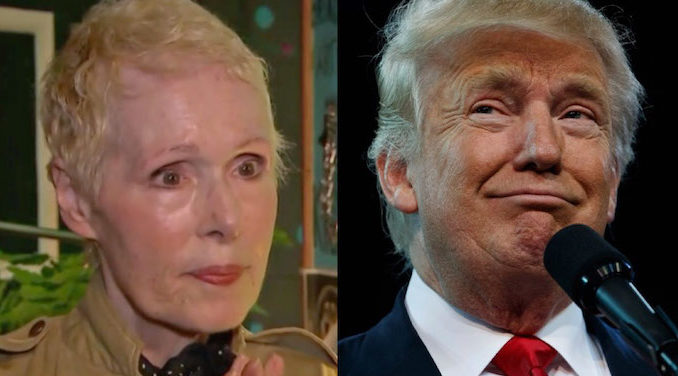 President Trump blasts new rape accuser, confirms he has never met the woman in his entire life