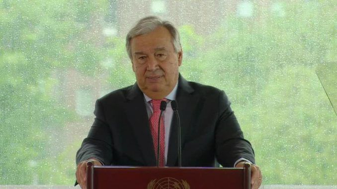 "UN Secretary-General Antonio Guterres has said ""Europe has been enriched throughout it's history by diversity."""