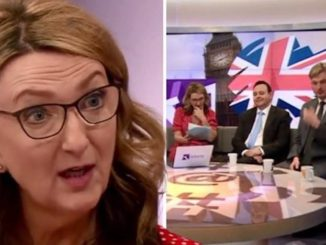 """A BBC presenter dropped the """"C bomb"""" live on TV yesterday, then immediately apologized — kind of — and immediately blamed men for using the word."""
