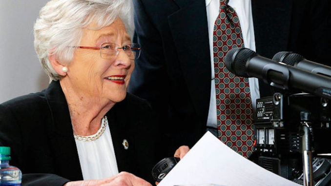 Alabama Gov. Kay Ivey has signed into law legislation that would require certain child sex offenders to be chemically castrated before their parole.