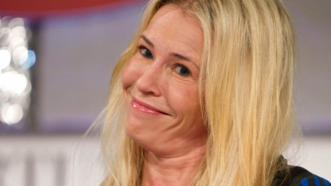 """Far-left comedienne Chelsea Handler said President Donald Trump should be impeached for referring to guns as """"entertainment"""" for people who use shooting ranges in the United States."""