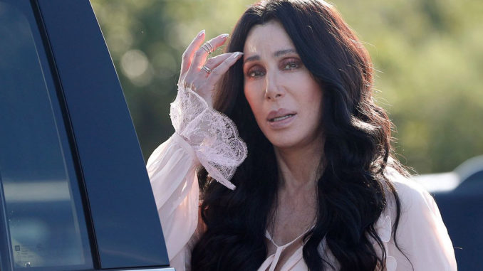 """Cher issued a warning on Thursday to her 3.7 million Twitter followers, claiming that there will """"be no America"""" if Trump wins in 2020."""