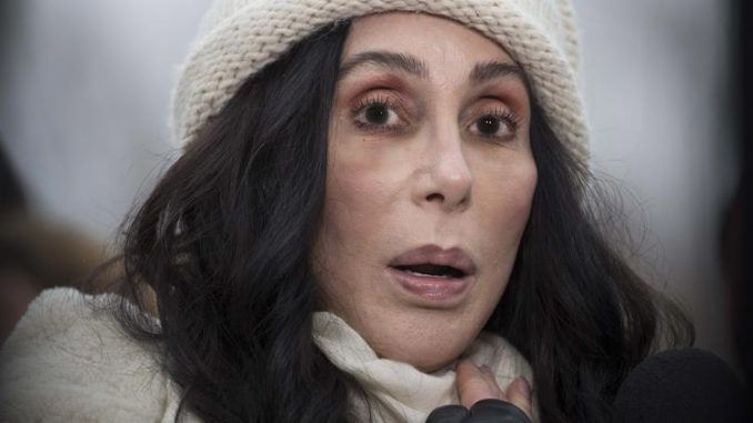 Cher says she believes Trump wants to put gay people in internment camps