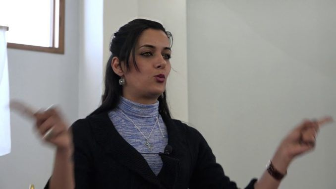 Aynaz Anni Cyrus, a former child bride, warned western woman about what life is really like under Islamic shariah law.