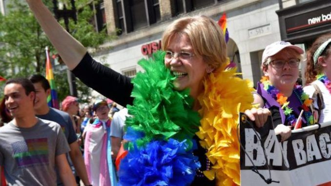Presidential 2020 hopeful Elizabeth Warren says she wants reparations for gay couples