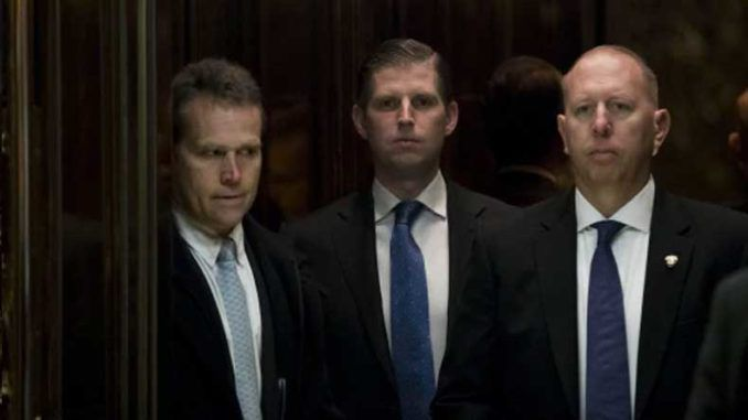 Secret Service arrest Chicago restaurant employee who assaulted Eric Trump by spitting on him