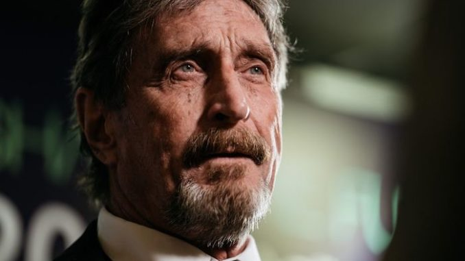 McAfee Vows To Expose Dozens of Corrupt US Politicians & CIA Agents John-mcafee-678x381
