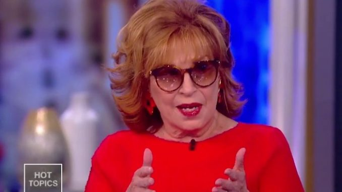 "The View co-host Joy Behar has already started making excuses for Joe Biden, saying it will be hard for him to ""cure cancer"", as he promised, ""when there's so much climate change."""