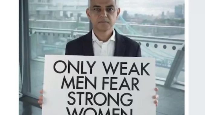London's mayor lectures President Trump on feminism