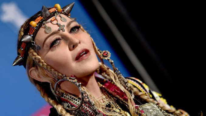 Madonna says there is something 'sexual' about Jesus hanging from the cross
