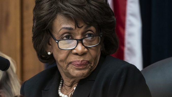 "Rep. Maxine Waters (D-CA) has vowed to continue to investigate President Trump because she is still convinced he ""colluded with Russia."""