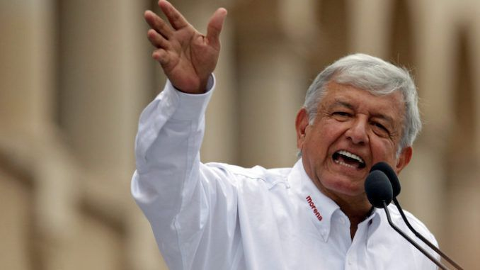 Mexican president tells Trump America is for migrants