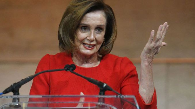 Nancy Pelosi asks whats the point enforcing illegal immigration laws inside America