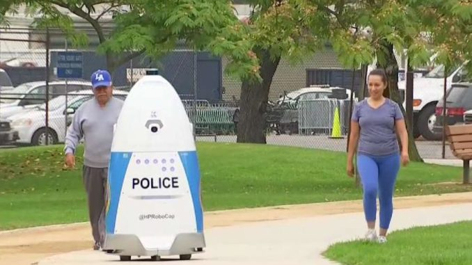 Huntington Park Police Department unveil RoboCop to monitor public spaces