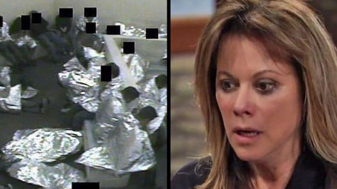 Actress Nancy Lee Grahn doctored a photo she posted on Twitter to blame Trump for something that actually occurred during the Obama administration.