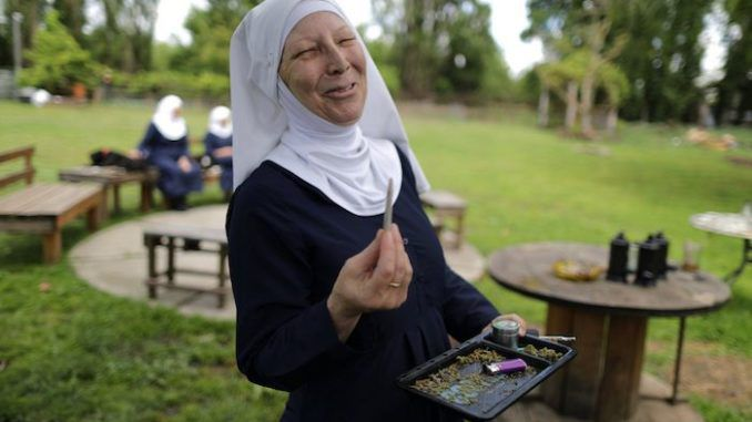 Nuns who call cannabis a 'gift from God' begin growing their own weed