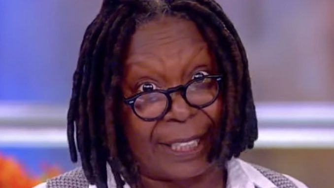 Whoopi Goldberg said Thursday that Senate Majority Leader Mitch McConnell should pay financial reparations to former President Barack Obama.