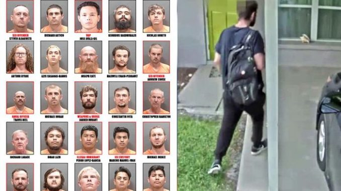 Sarasota Sheriff's office arrest 25 pedophiles in large undercover sting