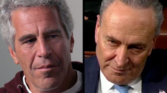Chuck Schumer received thousands in donations from Jeffrey Epstein