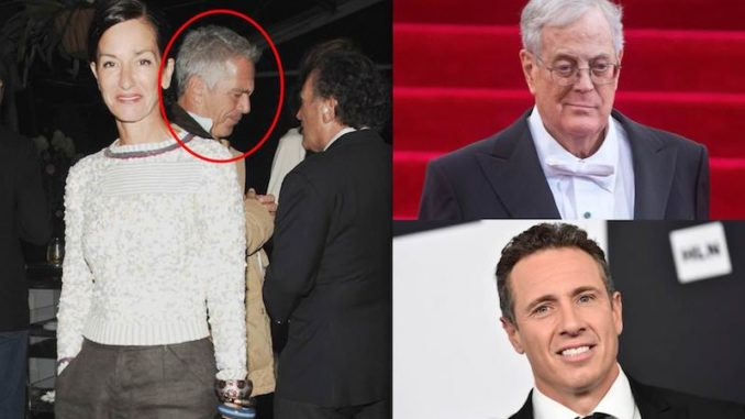 Jeffrey Epstein partied with Chris Cuomo and others at David Koch's house months after being released from prison